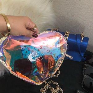 Holographic summer bag